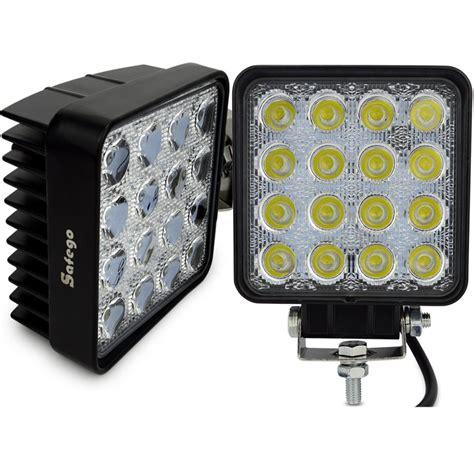 led work lights for trucks 2pcs 48w led work light led work light 48w for boats truck