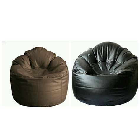 Xxxl Sofa by Buy Comfort Bean Bag Sofa Cover Xxxl Brown Black Pack Of
