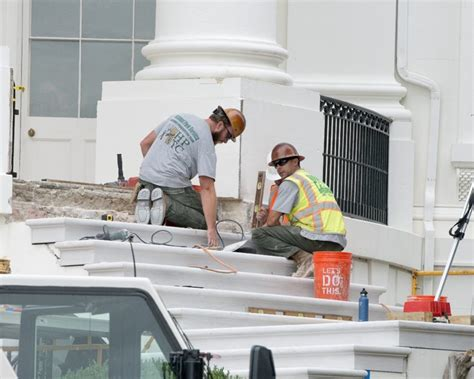 white house renovation 2017 photos white house undergoes long planned renovation blogs bloglikes