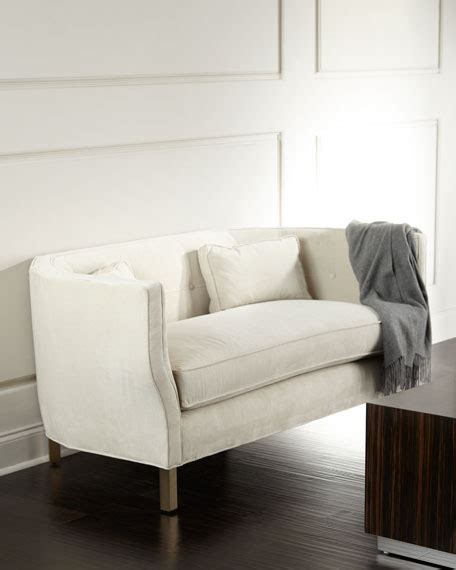 horchow settee biscotti settee