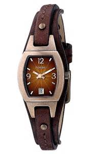 fossil brown leather brown