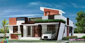 One Floor House by 1653 Sq Ft Contemporary One Floor House Kerala Home