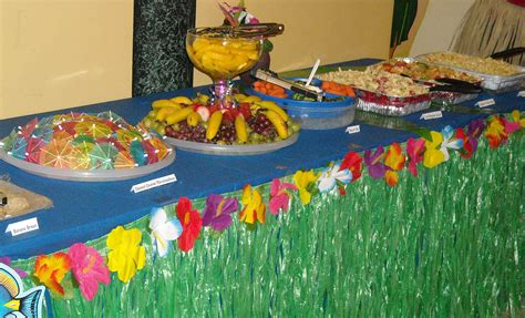 luau party ideas be organized make lists for needed