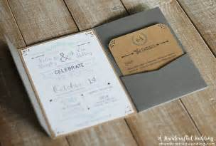 diy rustic wedding invitations plumegiant