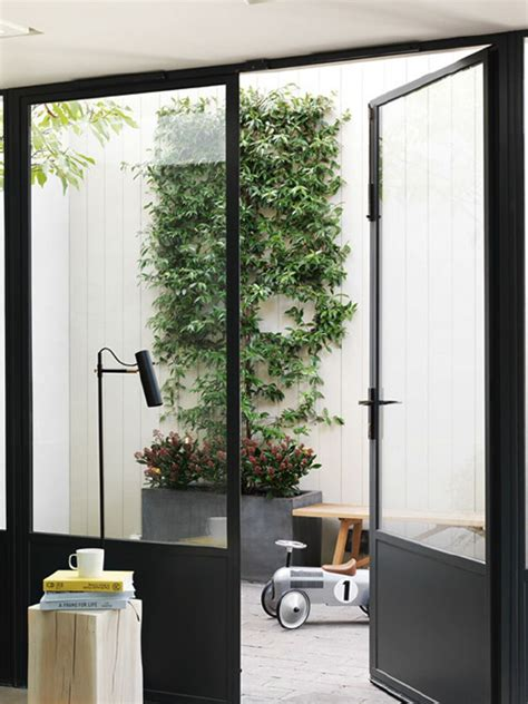 Open Glass Door A Notting Hill Townhouse Tailored For Living By Charles Mellersh Remodelista