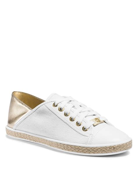 mk sneakers michael michael kors lace up espadrille sneakers kristy