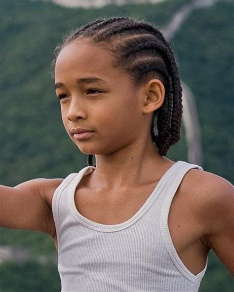 Jaden Smith Braids Hairstyle