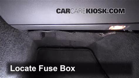 interior fuse box location   volvo   volvo     cyl