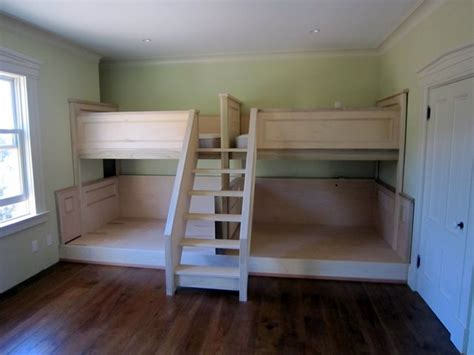 pair  quad bunk beds page  finish carpentry