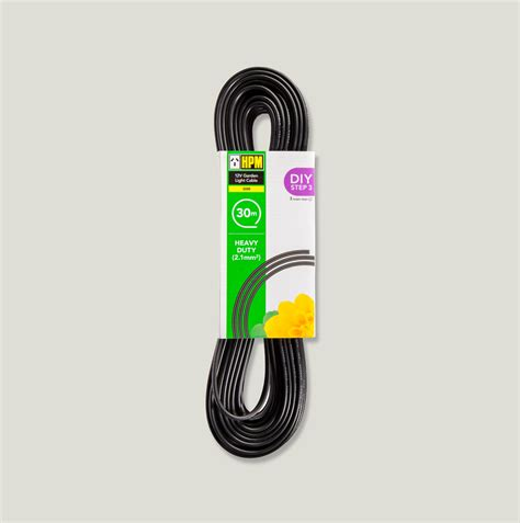 12v garden cable 12v garden light cable hpm