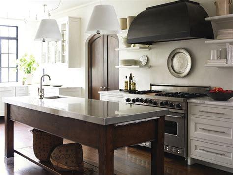 kitchen island with freestanding stove transitional black range transitional kitchen atlanta homes