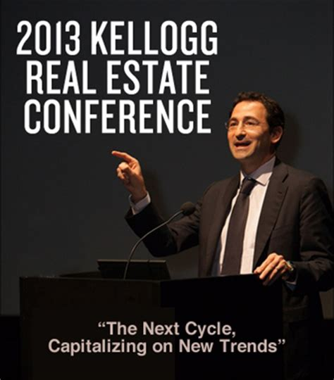 Kellogg Mba Real Estate web page real estate conference cusgroups at