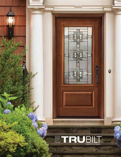 Steel Or Fiberglass Exterior Door Front Entry Door Systems Steel Fiberglass Trutech Trubilt Eurostar Windows And Doors