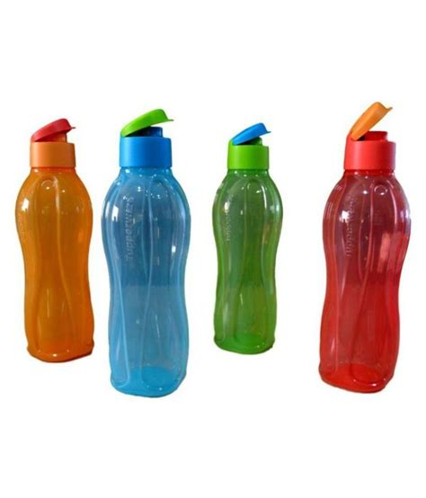 Tupperware Water Bottle 650ml tupperware aquasafe fliptop 1000 water bottle set of 4