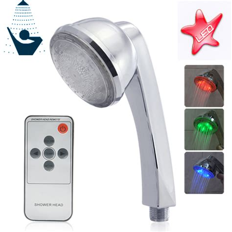 shower that changes color led color changing shower with remote changes color