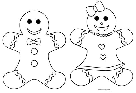 coloring page gingerbread boy free printable gingerbread coloring pages for