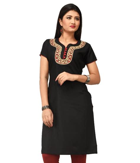 rene black rene black silk kurti price in india buy rene black silk
