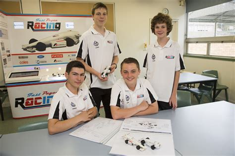 the challenge to care in schools payce fast payce racing team wins state in f1 in