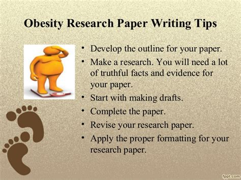 research papers on obesity obesity research paper