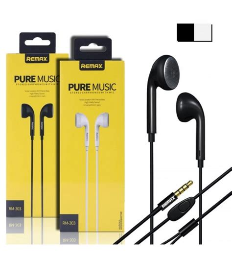 Remax Earphone With Microphone 515 Limited original remax earphone with mic