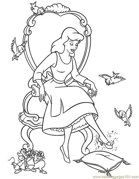 cinderella coloring pages pdf cinderella coloring page 11