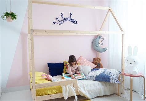 cabane chambre enfant lit cabane sur pilotis dans chambre