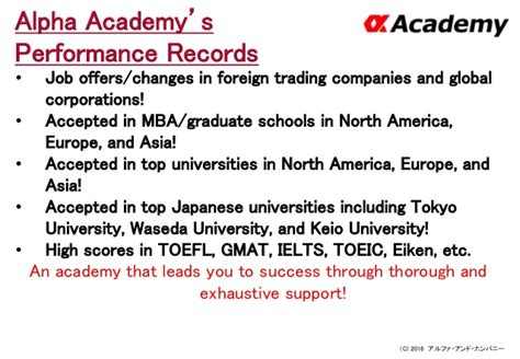 Waseda Mba Gmat Score by α Mentor Recruitment