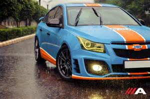 Chevrolet Modified This Gulf Liveried Modified Chevrolet Cruze Finds Our