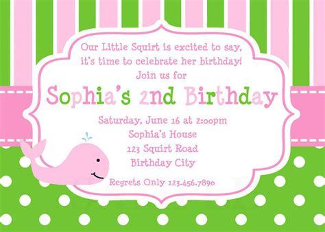 Printable Birthday Invitations For Tweens