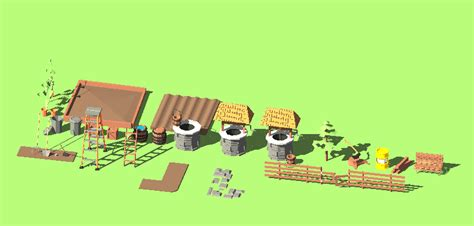 simple farm assets opengameartorg
