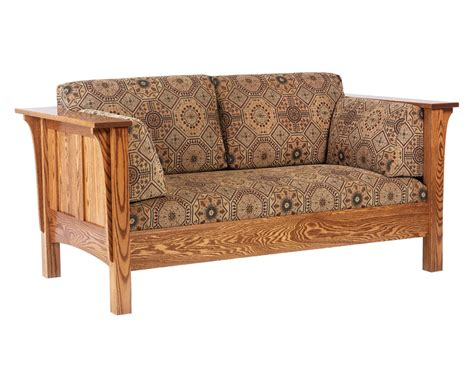 shaker style sofa shaker sofa amish furniture designed