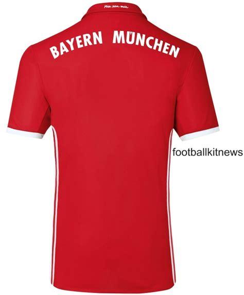 Bayern Munchen Home Jersey 2016 2017 Parley new bayern munich kit 2016 17 adidas fc bayern home