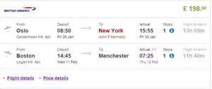Flights From To Nyc Airways Flights Manchester To New York 2017