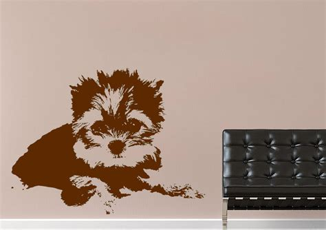 puppy wall stickers puppy wall stickers adhesive wall sticker