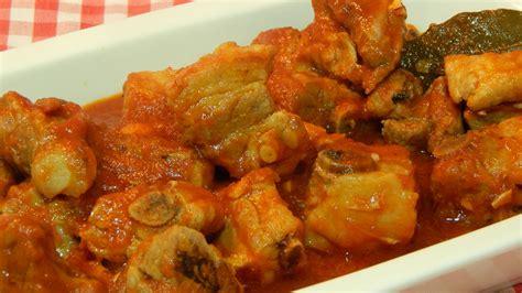como cocinar costillas de cerdo al horno costillas de cerdo en salsa receta f 225 cil