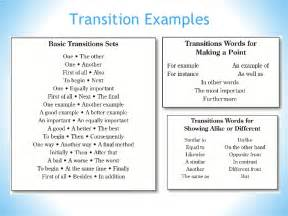 What Is A Transition Sentence In An Essay by Tackling A Writing Prompt Informational