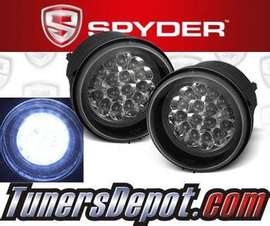 2010 dodge avenger fog lights spyder 174 led fog lights 08 10 dodge avenger fl led dch05 c