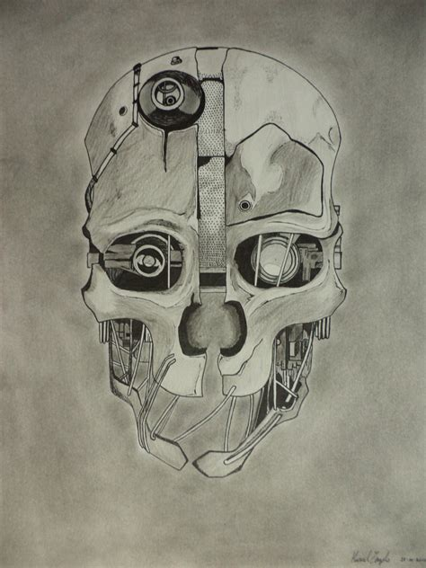 dishonored mask by mars0593 on deviantart