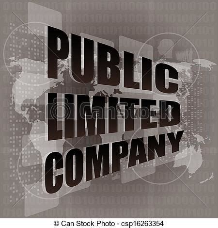 stock photo company stock illustrations of public limited company on digital