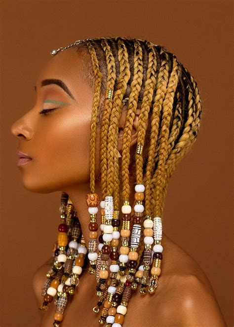 hairstyles with braids and beads braids and beads are you feeling this look kontrol