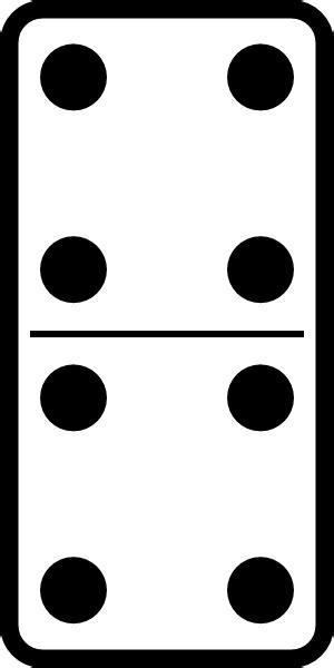 omino clipart domino set 21 clip at clker vector clip