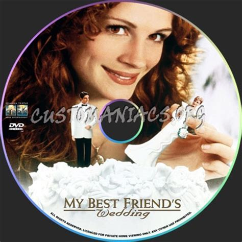 My Best Friend's Wedding dvd label   DVD Covers & Labels