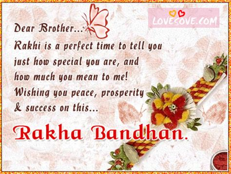 rakhi quotes for brother lovesove com