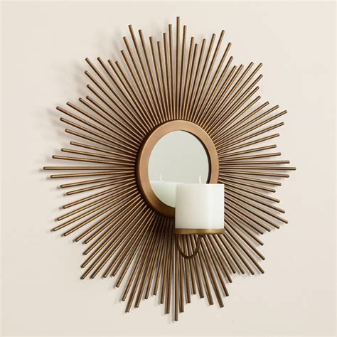 Sunburst Wall Sconce 12 best wall candle sconces for your home