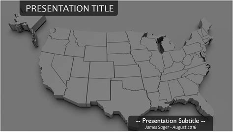 powerpoint map of usa 3d usa map powerpoint 20220 free 3d usa map powerpoint