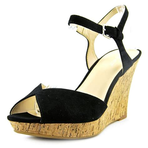 nine west sandal wedges nine west nine west big easy leather black wedge
