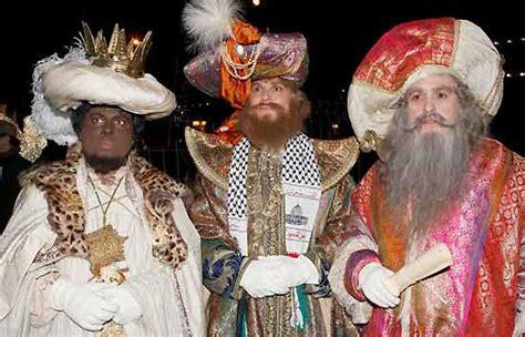 imagenes de los reyes magos vida real los reyes magos de oriente llegan cargados de regalos