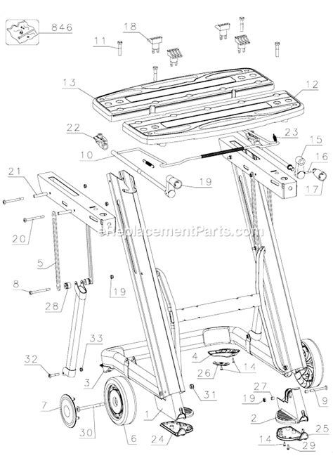 Black And Decker Workmate Parts Diagram