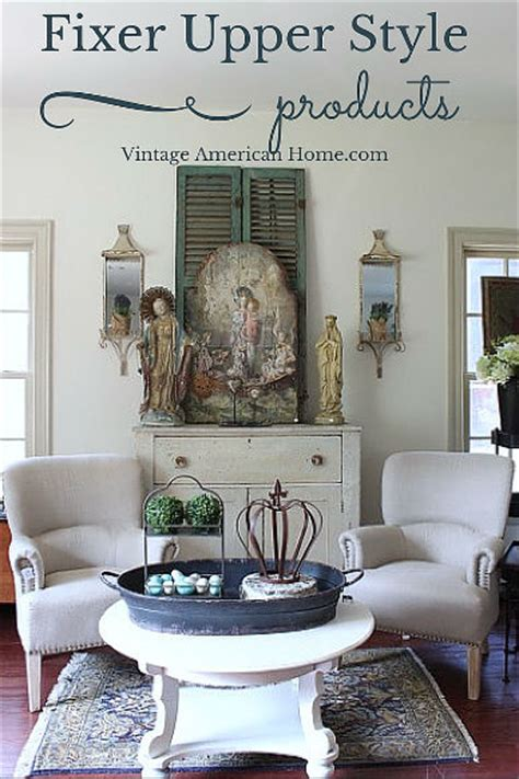 Vintage American Home by Fixer Tv Show Style Products Now Available On Line Vintage American Home