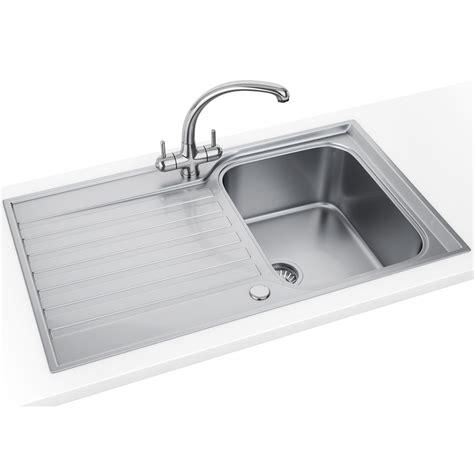 franke sink franke ascona asx 611 860 stainless steel 1 0 bowl inset